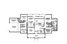 Country Floor Plan - Main Floor Plan Plan #472-305