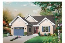 Dream House Plan - Traditional Exterior - Front Elevation Plan #23-2430