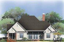Traditional Exterior - Rear Elevation Plan #929-788