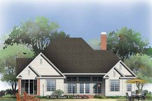 House Design - Traditional Exterior - Rear Elevation Plan #929-788