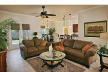 Country Interior - Family Room Plan #938-11