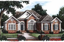 Ranch Exterior - Front Elevation Plan #927-44