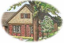 House Design - European Exterior - Front Elevation Plan #1040-22