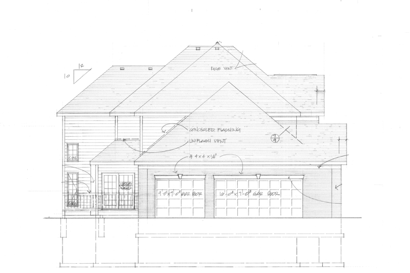 Traditional Exterior - Other Elevation Plan #328-289 - Houseplans.com