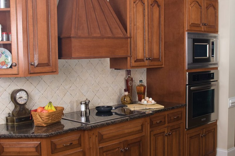 European Interior - Kitchen Plan #929-878 - Houseplans.com