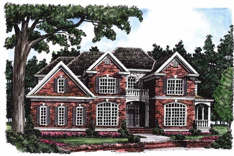 Colonial Exterior - Front Elevation Plan #927-191 - Houseplans.com