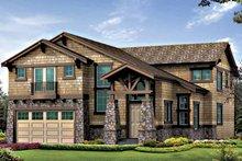 Craftsman Exterior - Front Elevation Plan #132-414