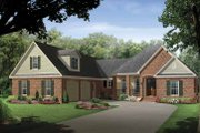 Country Style House Plan - 4 Beds 3 Baths 2500 Sq/Ft Plan #21-419