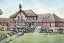 Country Exterior - Rear Elevation Plan #928-265