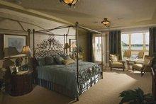 Mediterranean Interior - Master Bedroom Plan #1039-1