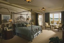 Mediterranean Interior - Master Bedroom Plan #1039-1