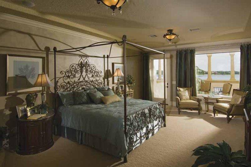 Mediterranean Interior - Master Bedroom Plan #1039-1 - Houseplans.com