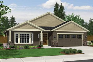House Design - Craftsman Exterior - Front Elevation Plan #943-15
