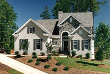 Traditional Exterior - Front Elevation Plan #453-388