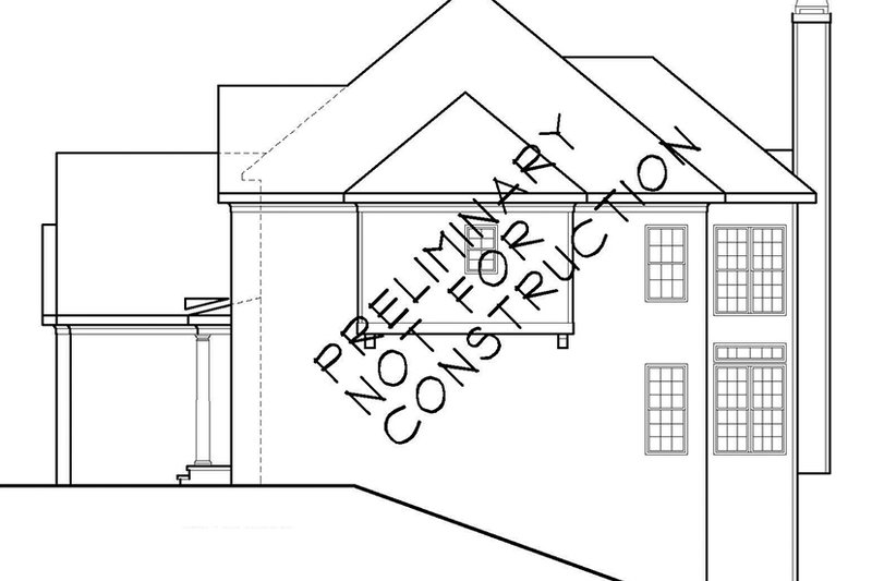 Colonial Exterior - Other Elevation Plan #927-564 - Houseplans.com
