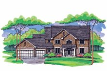House Plan Design - Country Exterior - Front Elevation Plan #51-1013