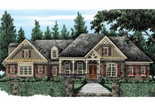 Country Exterior - Front Elevation Plan #927-415