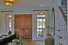 Country Interior - Family Room Plan #314-284