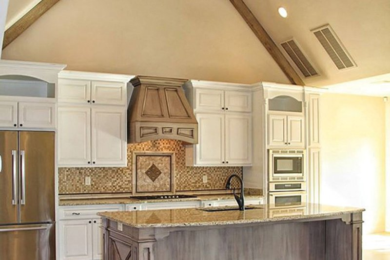 European Interior - Kitchen Plan #17-3366 - Houseplans.com