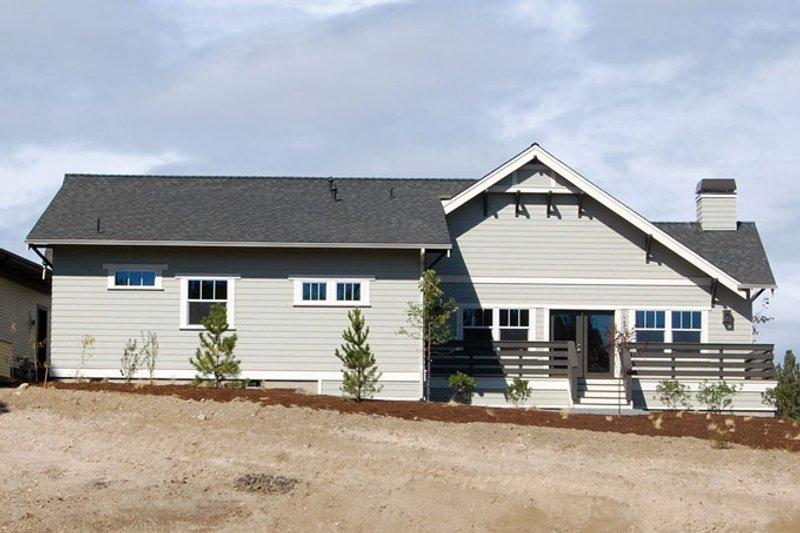 Craftsman Exterior - Rear Elevation Plan #895-81 - Houseplans.com