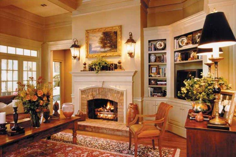 Classical Interior - Family Room Plan #429-248 - Houseplans.com