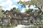 Cottage Style House Plan - 4 Beds 4 Baths 3123 Sq/Ft Plan #929-992