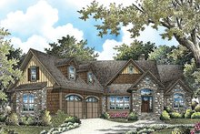 Dream House Plan - Cottage Exterior - Front Elevation Plan #929-992