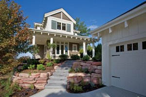 Dream House Plan - Craftsman Exterior - Front Elevation Plan #928-272