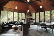 Country Style House Plan - 4 Beds 3 Baths 4970 Sq/Ft Plan #928-24 Interior - Other