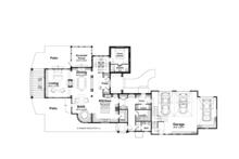 Country Floor Plan - Main Floor Plan Plan #928-214