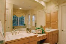 House Plan Design - Mediterranean Interior - Bathroom Plan #417-746