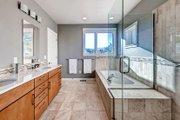 Prairie Style House Plan - 4 Beds 4 Baths 3742 Sq/Ft Plan #1042-17 Interior - Master Bathroom