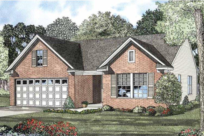Colonial Exterior - Front Elevation Plan #17-2900 - Houseplans.com