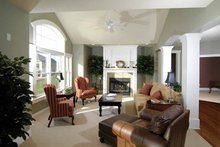 Architectural House Design - Craftsman Interior - Family Room Plan #928-91