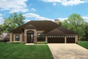 Craftsman Style House Plan - 4 Beds 3 Baths 2448 Sq/Ft Plan #1058-47 Exterior - Front Elevation