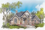 Traditional Style House Plan - 3 Beds 2.5 Baths 2261 Sq/Ft Plan #929-341