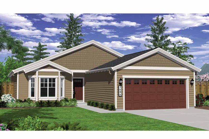 Craftsman Exterior - Front Elevation Plan #943-20 - Houseplans.com