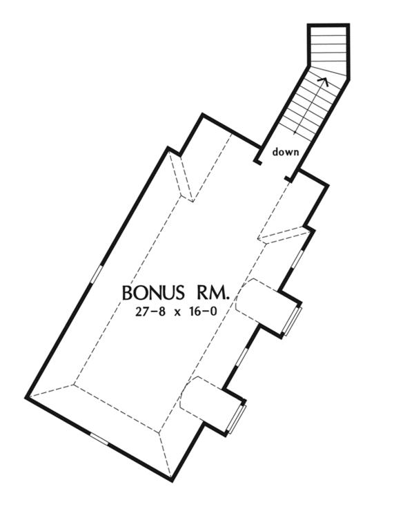 Dream House Plan - European Floor Plan - Other Floor Plan #929-912