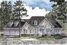 House Plan Design - Craftsman Exterior - Front Elevation Plan #316-270