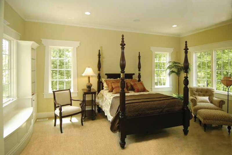 European Interior - Master Bedroom Plan #928-42 - Houseplans.com