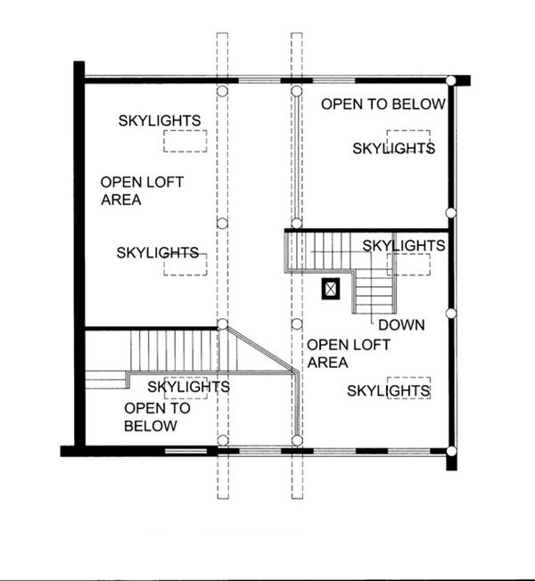 Log Floor Plan - Other Floor Plan Plan #117-825