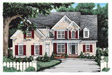Architectural House Design - Colonial Exterior - Front Elevation Plan #927-900
