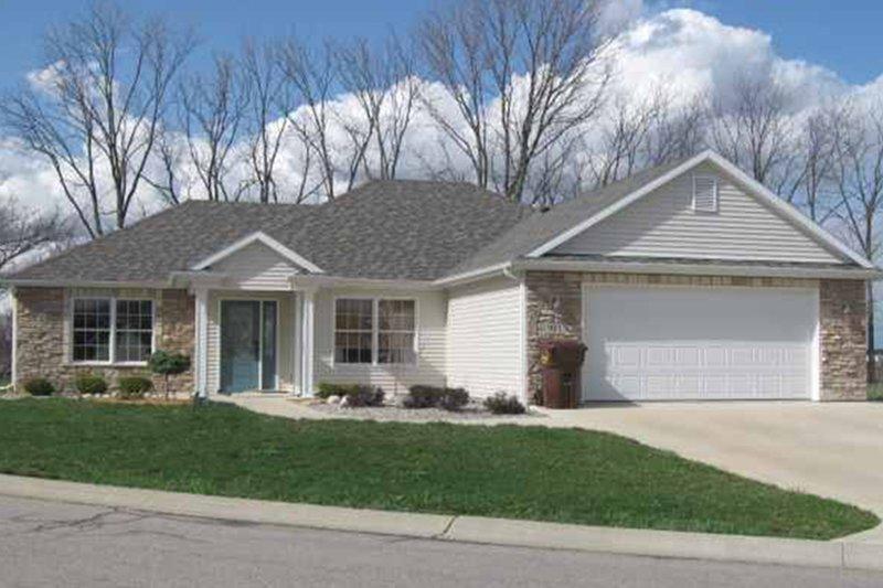 House Plan Design - Ranch Exterior - Front Elevation Plan #1064-9