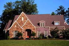 Country Exterior - Front Elevation Plan #453-239