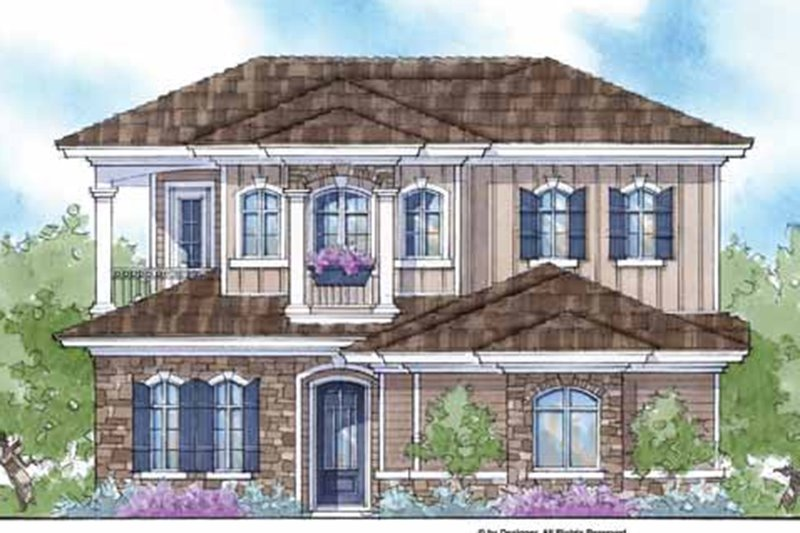 Country Exterior - Front Elevation Plan #938-15 - Houseplans.com