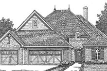 House Plan Design - Country Exterior - Front Elevation Plan #310-1270