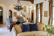Mediterranean Style House Plan - 3 Beds 3 Baths 4795 Sq/Ft Plan #1058-15 Interior - Family Room