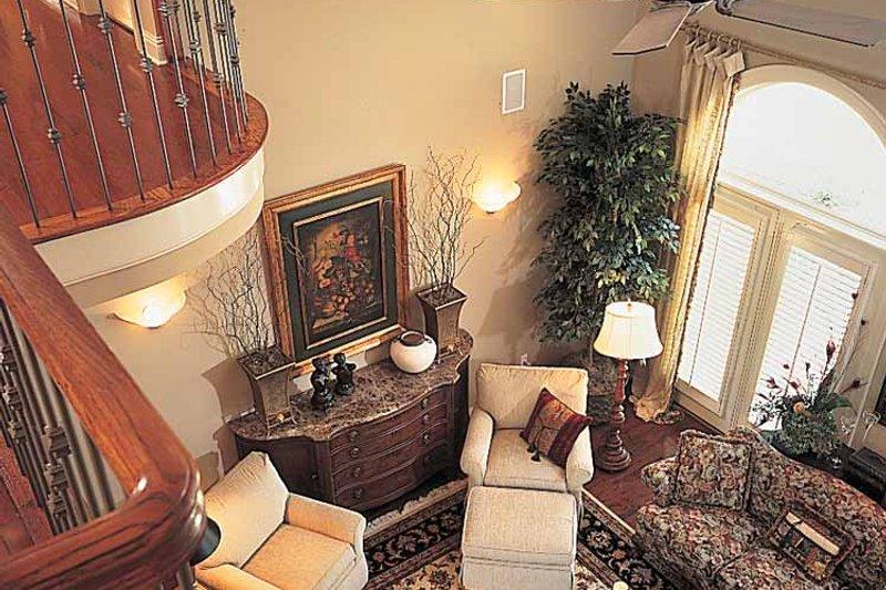 Mediterranean Interior - Family Room Plan #952-178 - Houseplans.com