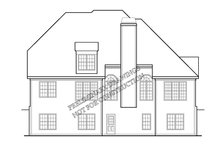Country Exterior - Rear Elevation Plan #927-915
