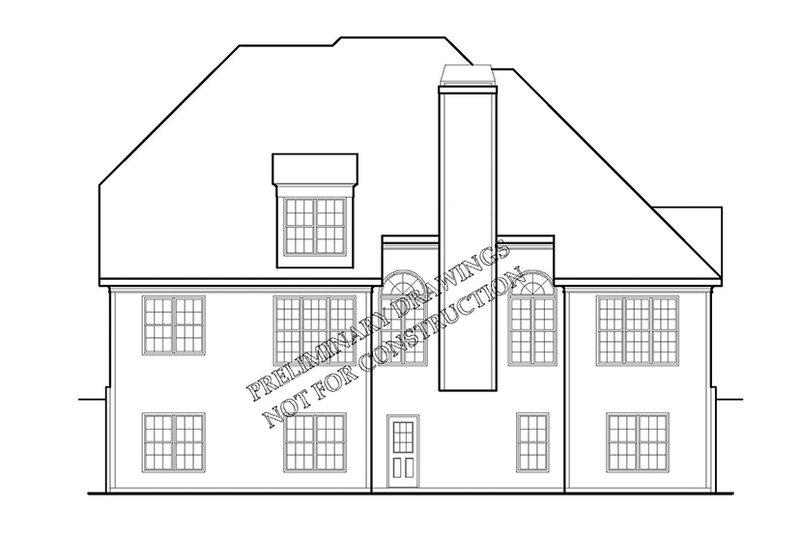 Country Exterior - Rear Elevation Plan #927-915 - Houseplans.com